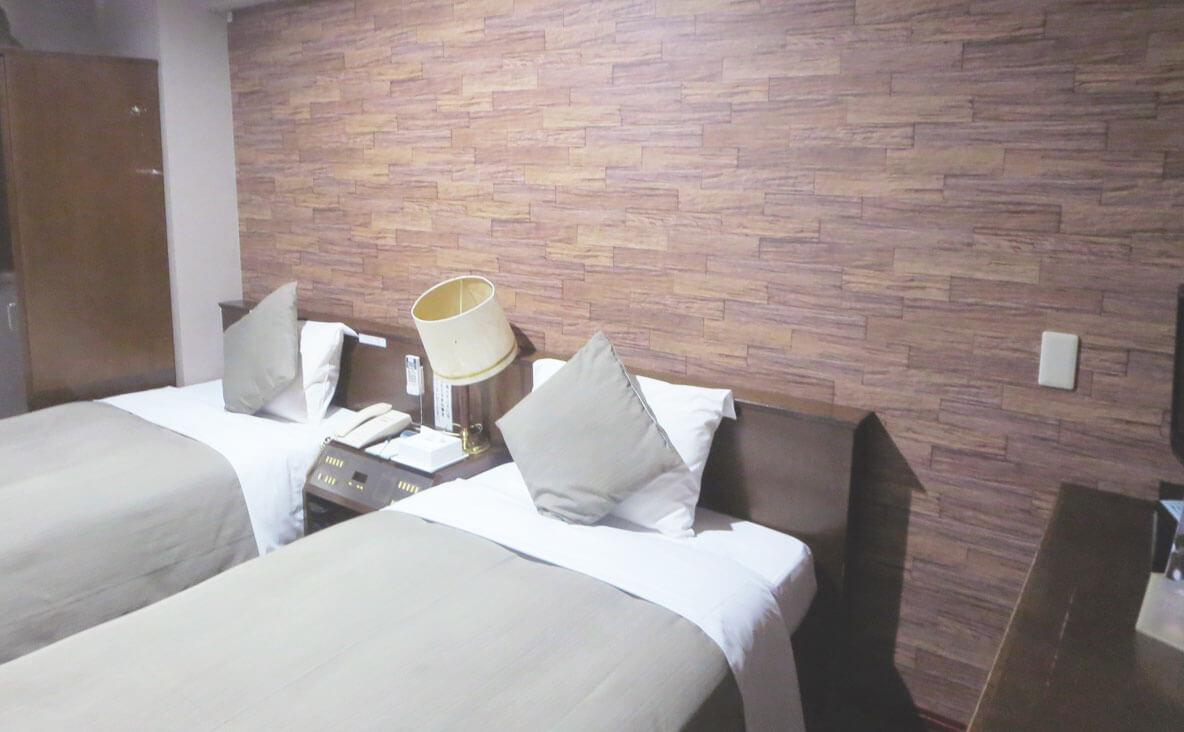 カップルプランホテル部屋写真